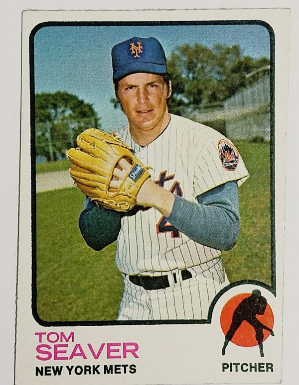 Tom Seaver, Mets, New York, Pitcher,Topps, HOF
