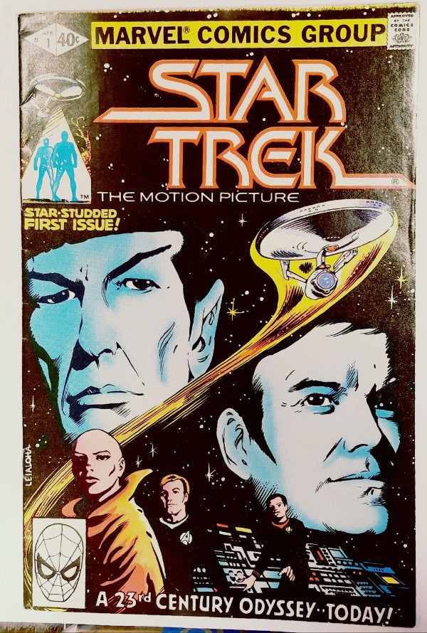 Star Trek, Comic Book, Marvel, 1980, Kirk, Spock, Enterprise, Movie