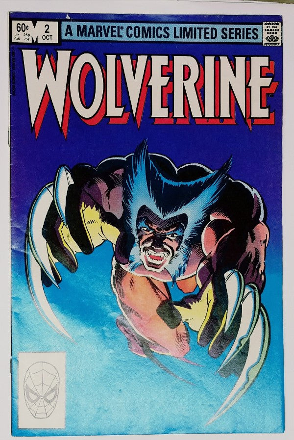 Wolverine, Limited Series, Marvel, Frank Miller, X-Men, Comic Books