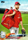 RARE! SP PAUL DEJONG ROOKIE 2018 TOPPS UPDATE #462 CARDINALS, PHOTO VARIATION