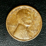 1924-S Lincoln Wheat Cent, Rare, Semi-Key Date: Must See Images!!! - WILD TONING!, CardboardandCoins.com