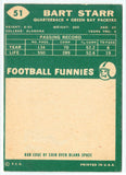 "1960 Topps #51 Bart Starr ORIGINAL, QB, Green Bay Packers EX, a ""MUST HAVE"", CardboardandCoins.com"