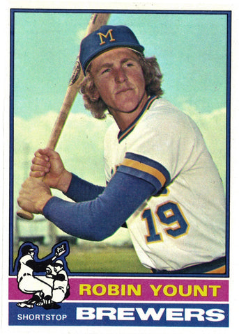 1976 Topps #316 Robin Yount, Grade 8.8 NM+, CardboardandCoins.com