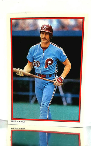 Sport_Baseball, Company_Topps, Company_ALL, Team_Philadelphia Phillies, Graded-by_CardboardandCoins, Schmidt, Mike, Phillies, Philadelphia, Glossy, All-Star, Collector's Edition, Gloss, Redemption, Mail-in, Send-in, Exclusive, Limited, Rare, Baseball Card, Topps, 1984