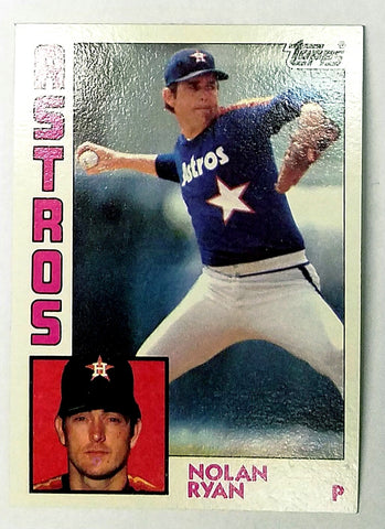 1984 Topps #470 Nolan Ryan, Astros, All-Time Strikeout Leader - Vending Box Fresh!!, CardboardandCoins.com