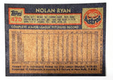 1984 Topps #470 Nolan Ryan, Astros, All-Time Strikeout Leader - Vending Box Fresh!!
