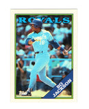 1988 Topps Bo Jackson #750 2nd Year Card, Royals, Grade 9.1 MINT, CardboardandCoins.com