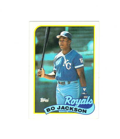 1989 Topps Bo Jackson #540 3rd Year Card, Royals, Grade 9.2 MINT, CardboardandCoins.com