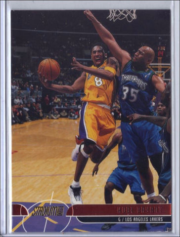 2001-02 Topps Stadium Club Parallel 10 Kobe Bryant Lakers, CardboardandCoins.com