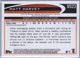 2012 Topps Update US23 Matt Harvey Mets, Rookie Card, RC, Graded Mint, CardboardandCoins.com