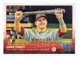 2015 Topps Update # US227 Mike Trout, PACK FRESH, NM-MT+, CardboardandCoins.com