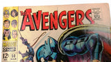 The Avengers #50 (Mar 1968, Marvel), Original Owner Smoke-Free Home Nice Comic Book, CardboardandCoins.com