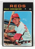 1971 Topps #14 Dave Concepcion ROOKIE CARD, Reds, NM, HOT CARD!