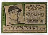 1971 Topps #727 RARE SHORT PRINT (SP) Ray Lamb, Pitcher, Indians, EX-NM