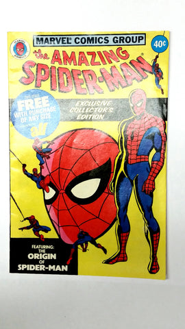 The Amazing Spider-Man, All Detergent Promo, 1979, Marvel Comics, ORIGIN, RARE!!, CardboardandCoins.com