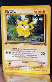 Pikachu 60/64 1st Edition Pokemon Jungle, First Edition - TOUGH FIND !!