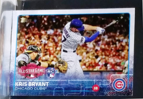 2015 Topps Update #US242 KRIS BRYANT ROOKIE Graded 10, Rare All-Star Action Version, CardboardandCoins.com