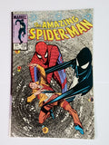 Amazing Spider-Man, 258, Marvel, Spiderman, Black Cat, Symbiote, Black Suit, Comic Book, Comics, Vintage, Book, Collect, Trading, Collectibles