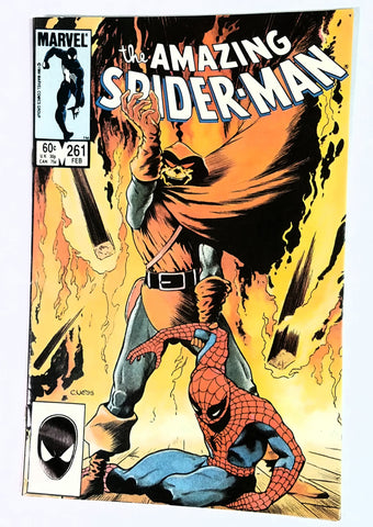 Amazing Spider-Man #260 Marvel Comics, 1985, Hobgoblin, Black Cat, Shooter, Defalco, CardboardandCoins.com