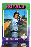 1975 Topps #228 George Brett ROOKIE CARD - Well Centered, See Image, As Is
