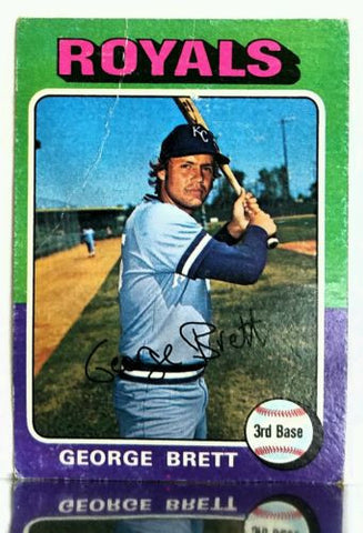 1975 Topps #228 George Brett ROOKIE CARD, Well Centered RC, See Image, As Is