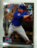 2016 Bowman Chrome #31 Kyle Schwarber ROOKIE CARD RC Chicago Cubs World Series