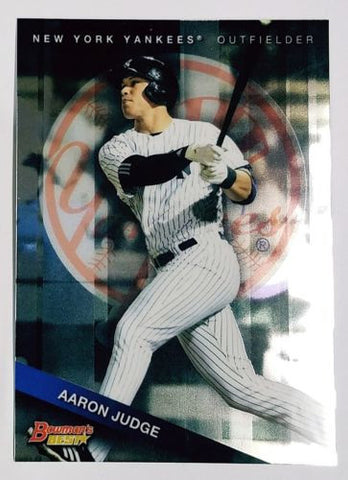AARON JUDGE ROOKIE CARD! SPARKLING 2015 Bowman Best Top Prospect #TP-21 Yankees