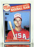 1985 Topps MARK McGWIRE ROOKIE CARD # 401 US Olympic Team, HOF Very Possible!, CardboardandCoins.com