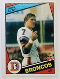 1984 Topps #63 John Elway ROOKIE CARD, ORIGINAL! HOF QB Broncos SET BREAK NM+, CardboardandCoins.com