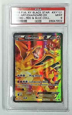 PSA 9 MINT Pokemon XY121 Charizard EX Full Art XY Generations 20th Anniversary, CardboardandCoins.com
