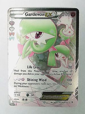 Gardevoir Ex, Full Art, Ultra Rare Holo, Radiant, XY, Generations, Pokemon, Cards, Vintage, TCG, Game, Collect, Trading, Collectibles