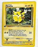 1st Edition Pikachu 60/64 Pokemon Jungle Set First Edition QTY AVAIL w/LOW SHIP, CardboardandCoins.com