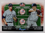 AARON JUDGE ROOKIE CARD; 2013 Bowman Dual Draft Judge & Clarkin, Yankees #DD-JC, CardboardandCoins.com