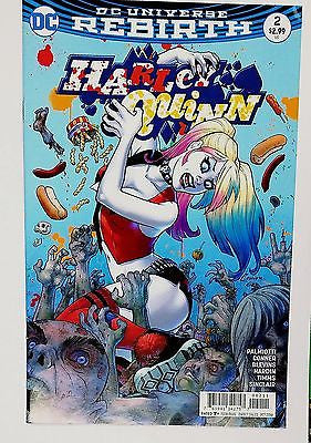 "HARLEY QUINN #2 DC REBIRTH - HOT MOVIE ""Suicide Squad"", 2016, Hot Issue, NICE!!, CardboardandCoins.com"