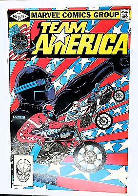 Team America, 1, Marvel, Origin, Miller Art, Comic Book, Comics, Vintage, Book, Collect, Trading, Collectibles