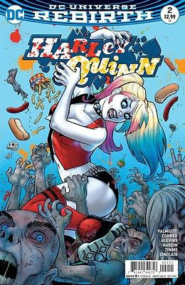 Harley Quinn, 2, DC, DC Rebirth, Joker, Suicide Squad, Movie, Comic Book, Comics, Vintage, Book, Collect, Trading, Collectibles