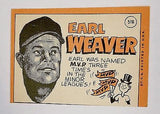 1969 Topps #516 Earl Weaver ROOKIE CARD, Manager, Baltimore Orioles, HOF, CardboardandCoins.com