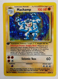 Pokemon ** 1st EDITION MACHAMP 8/102 HOLO RARE ** First Edition Base Set MINT!, CardboardandCoins.com