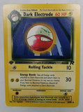 Pokemon 1st Edition DARK ELECTRODE 34/82 TEAM ROCKET First Edition Set TCG MINT, CardboardandCoins.com