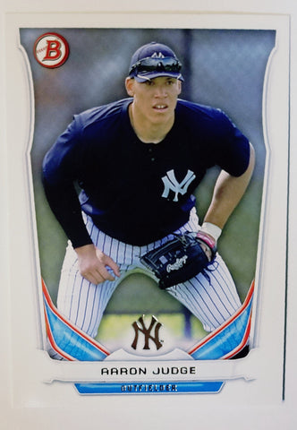 2014 Bowman Draft AARON JUDGE ROOKIE CARD #TP-39 Yankees Phenom! HOTTEST CARD!!