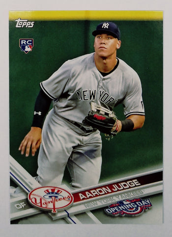 AARON JUDGE ROOKIE CARD 2017 Topps OPENING DAY #147 Yankees RC - LAST ONE!