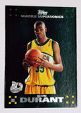 Kevin Durant ROOKIE CARD 2007-2008 Topps #112 Supersonics, Warriors, NBA, RC !!, CardboardandCoins.com