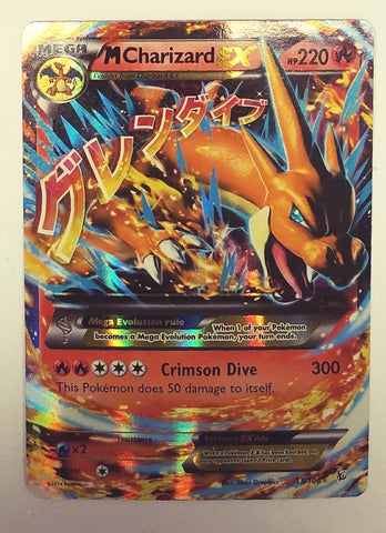 Pokemon Mega Charizard Ex 13/106 Full Art Ultra Rare Holo XY Flashfire Pack New, CardboardandCoins.com