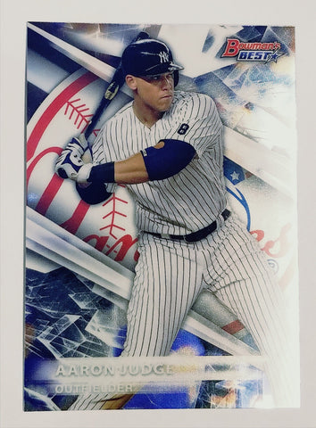 AARON JUDGE ROOKIE CARD! SPARKLING 2016 Bowman Best Top Prospect #TP-28 Yankees