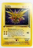 Pokemon 1st Edition ZapDos 30/62 Rare Fossil First Edition Set TCG MINT, CardboardandCoins.com