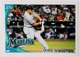 MIKE/GIANCARLO STANTON ROOKIE 2010 Topps UPDATE #US-50 Marlins, 50+ Home Runs