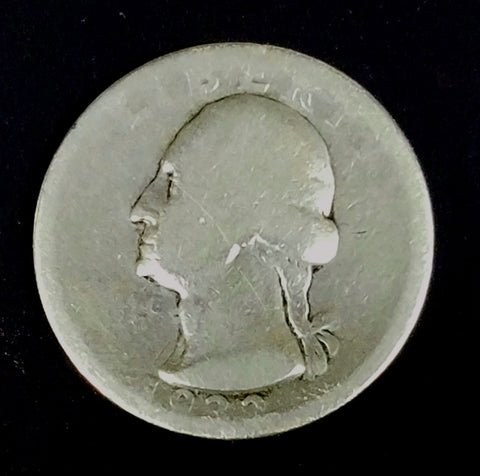HOT KEY DATE 1932-D Washington Quarter Silver Quarter 1st Year Low Mintage Coin, CardboardandCoins.com