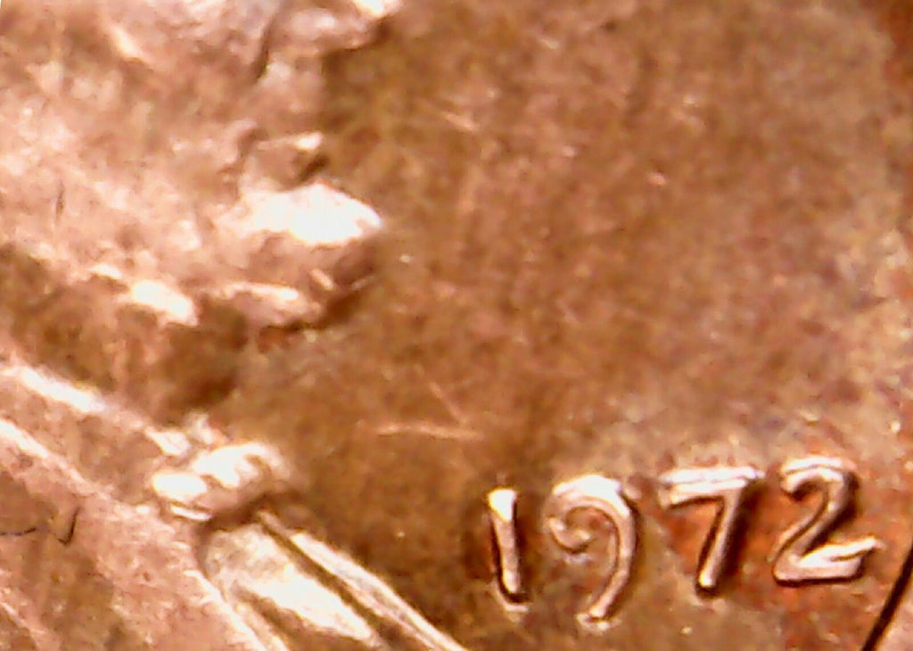 1972 Lincoln Memorial Cent DOUBLED 1c Penny Obverse Date, Liberty, IGWT