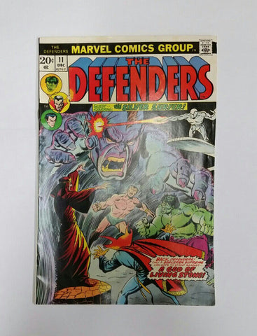 Defenders, 11, Marvel, Silver Surfer, Black Knight, Hulk, Avengers, Comic Book, Comics, Vintage, Book, Collect, Trading, Collectibles
