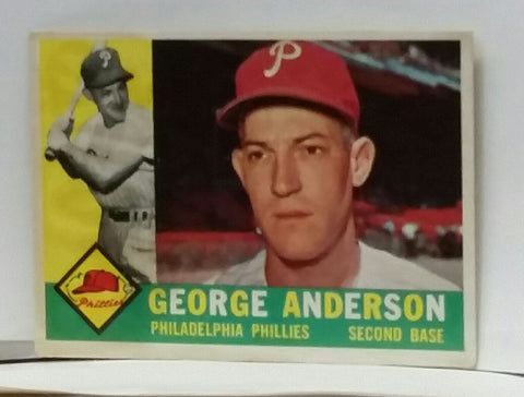 "1960 Topps #34 ""SPARKY"" ROOKIE - George Sparky Anderson, NM-MT, CardboardandCoins.com"